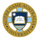 University of Notre Dame Australia - logo